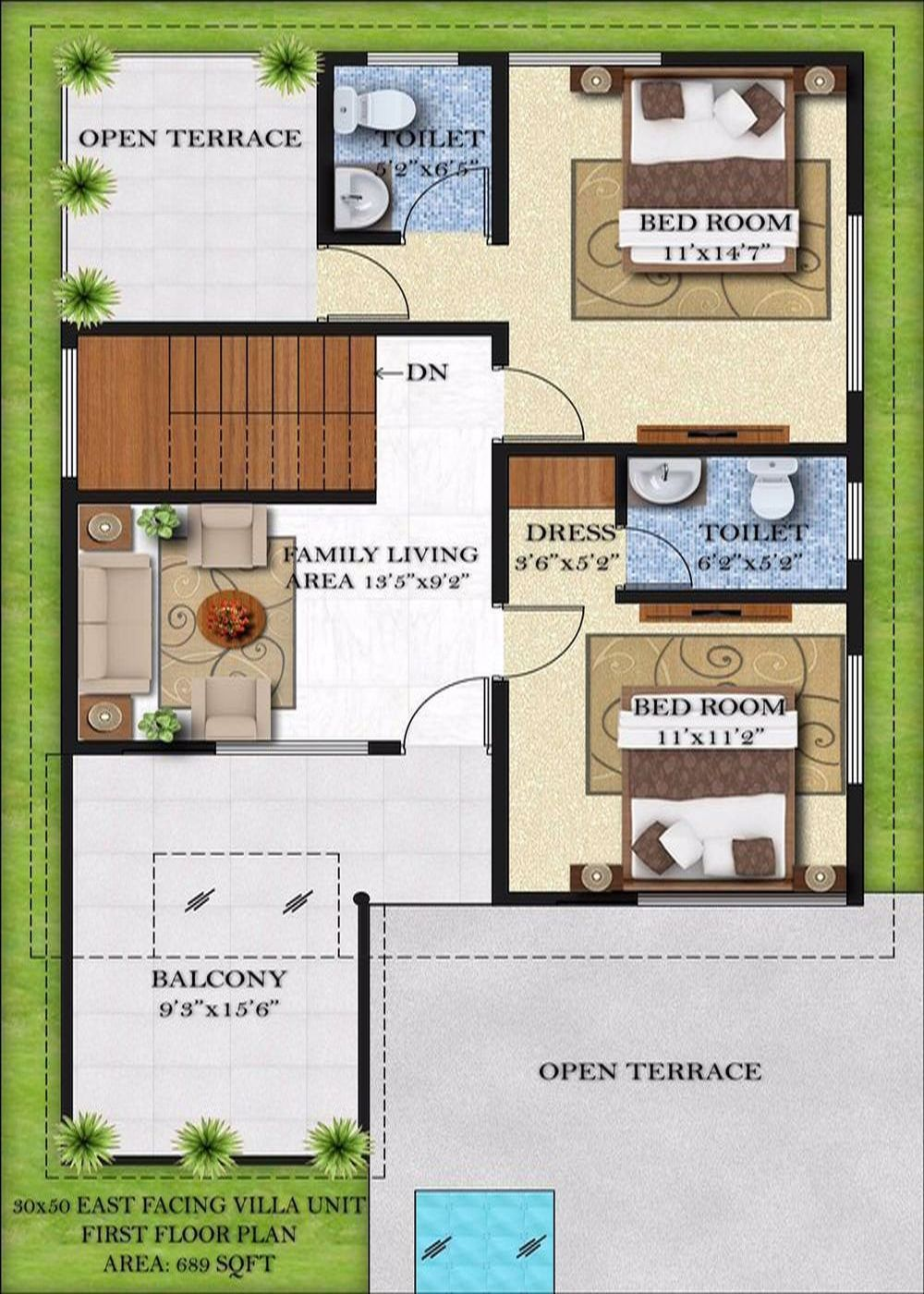 Bougainvillea villas by infrany ventures for Plot plans for my house
