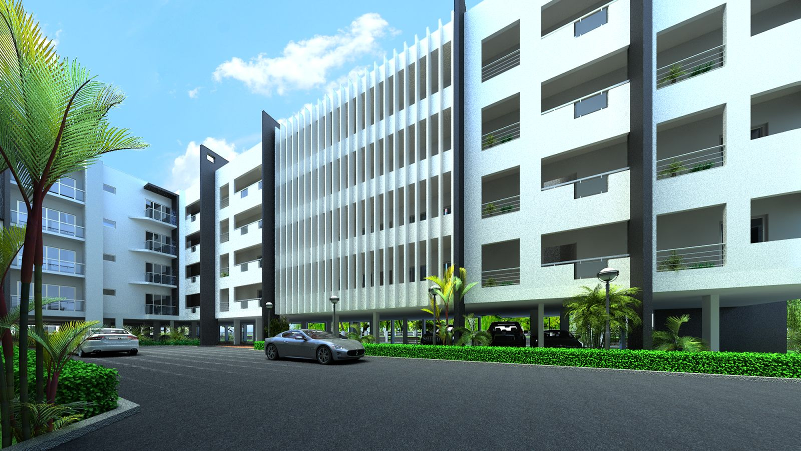 Infrany Petals - Apartments in Bangalore.