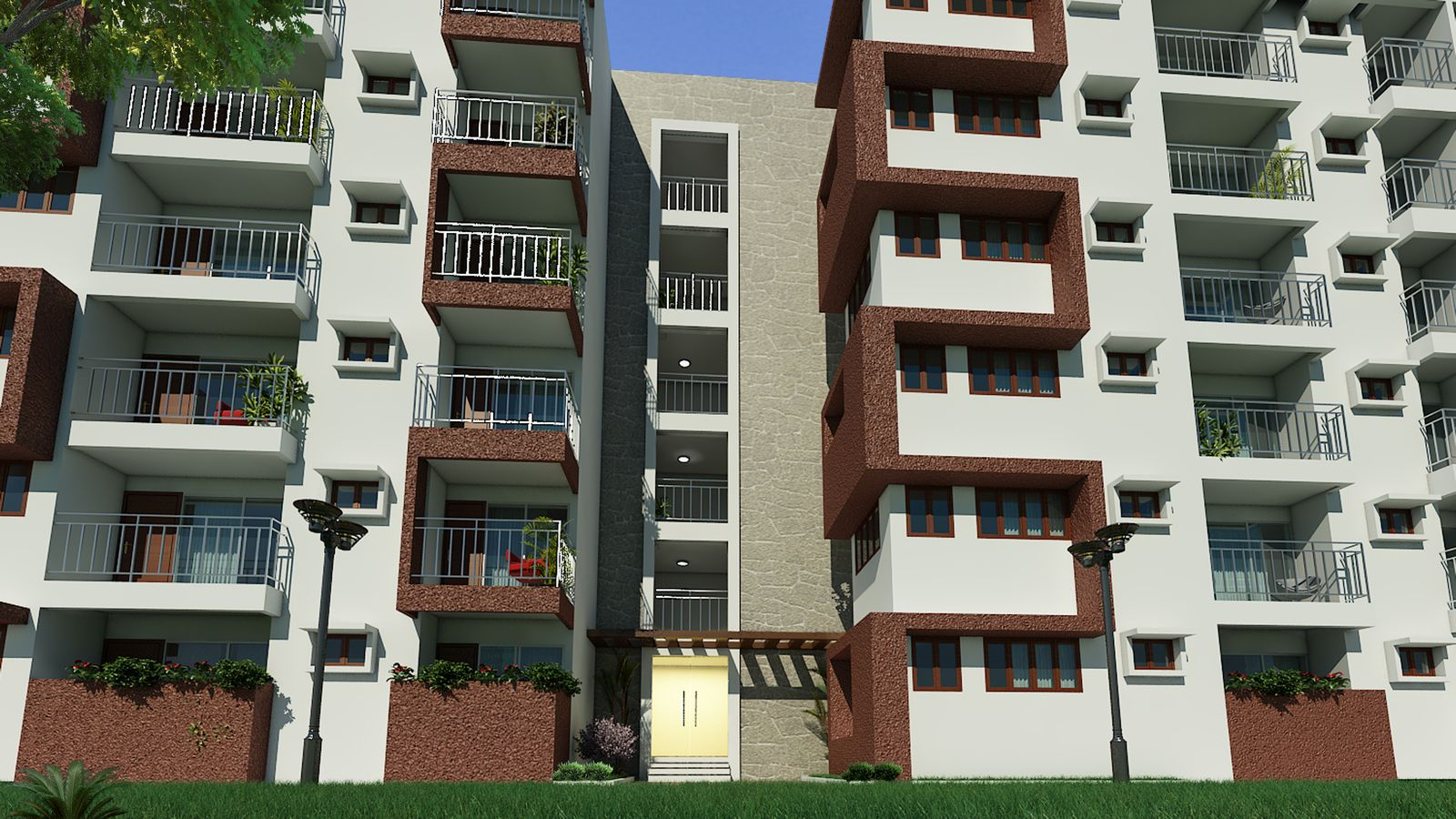 Infrany Trinity - Apartments in Bangalore.